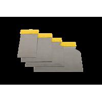 Szpachelki ze Stali Nierdzewnej  x 4 (50, 80, 100,120 mm)