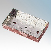 Podwójna Puszka Metalowa -25mm