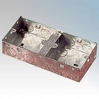 2x1 Metalowa Puszka Podwójna - 35mm