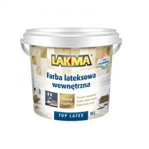 Farba lateksowa wewnętrzna TOP LATEX - Latex Paint 10L