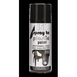 Farba w Sprayu - Połysk Czarna - 400 ml