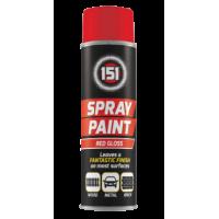 Farba w Sprayu - Czerwona Połysk 250 ml