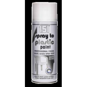 Farba w Sprayu - Biała Połysk 250 ml