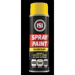 Farba w Sprayu - Połysk Żółta 250 ml